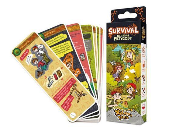 prezent na mikołajki dla dzieci do 20 zł karty survivalowe