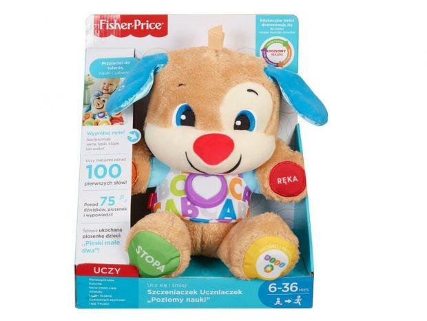 prezent na roczek dla chłopca szczeniaczek Fisher Price