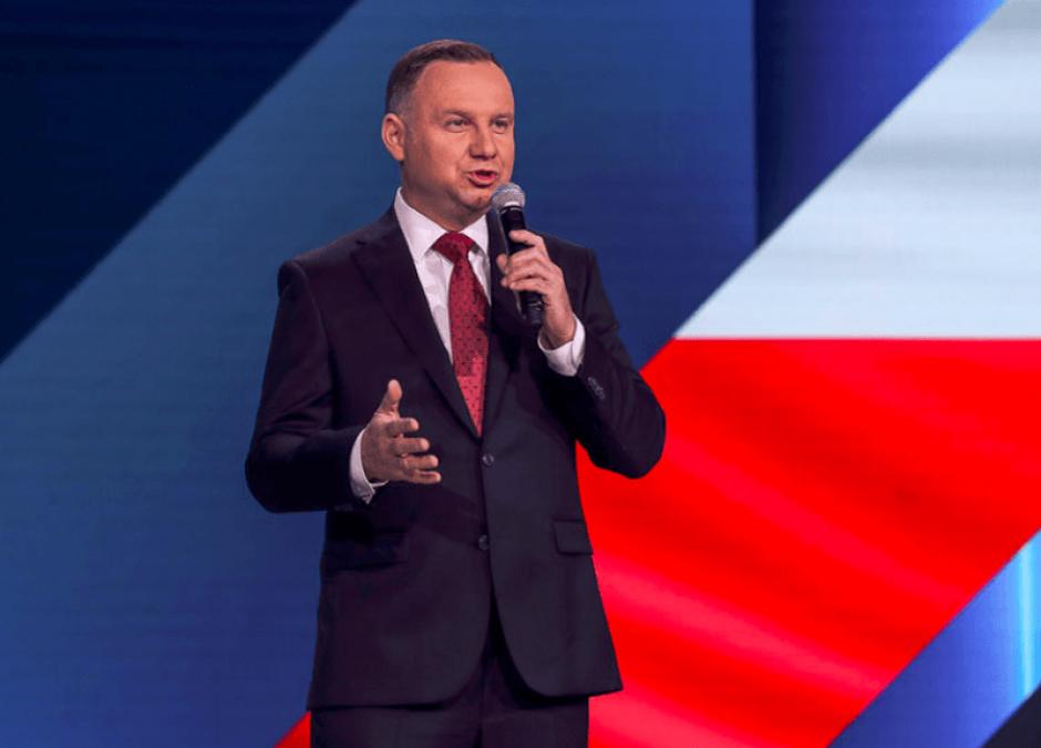 prezydent Andrzej Duda o szczepieniach
