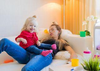 problemy ze snem młodych rodziców