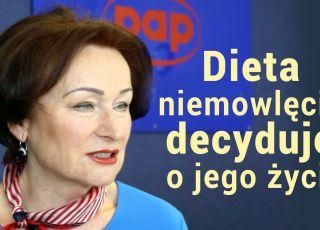 Prof. Dobrzańska: dieta niemowlęcia