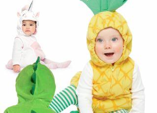 przebrania dla dzieci ananas jednorożec i diznozaur