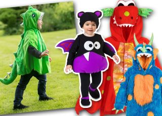 stroje na Halloween dla dzieci jak zrobić
