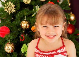 przedszkolak, choinka, święta, uśmiech, Boże Narodzenie