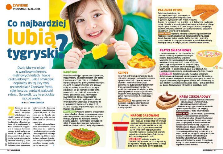 Przedszkolak żywienie