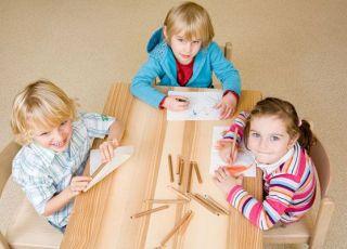 przedszkole, przedszkolaki, rysowanie