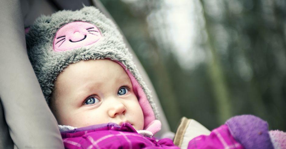Przegrzewanie dziecka zimą