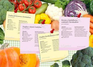 20 przepisów na zupki dla niemowlaka – do druku