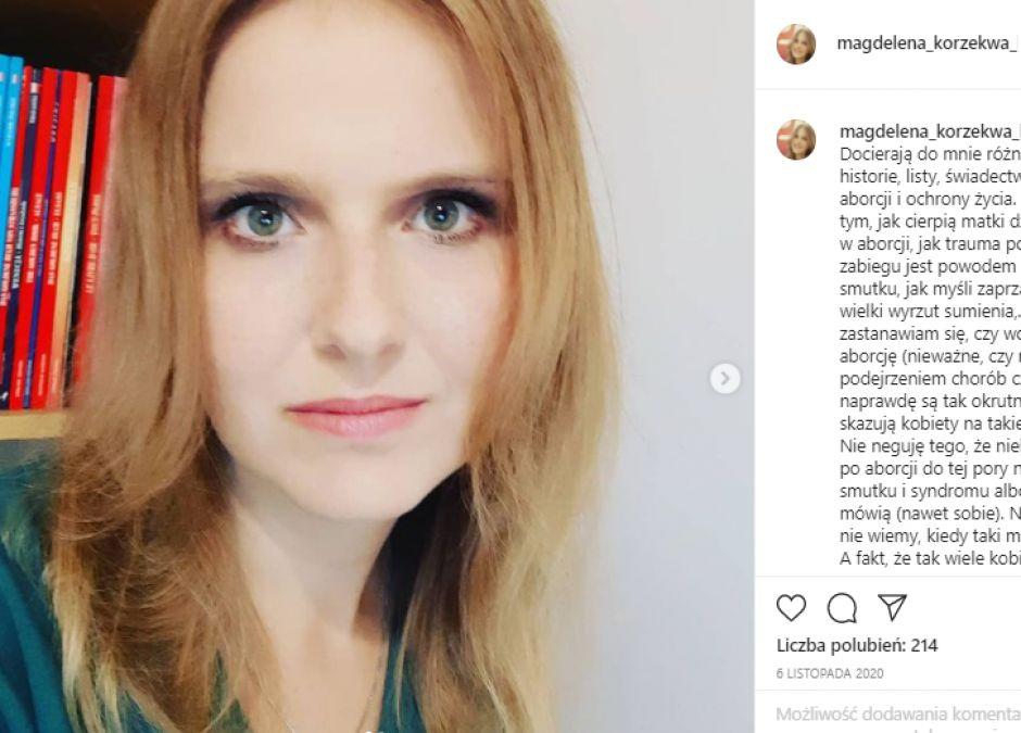 """Przerażające słowa działaczki pro -life: """"Zastanówmy się, jak karać kobiety""""."""