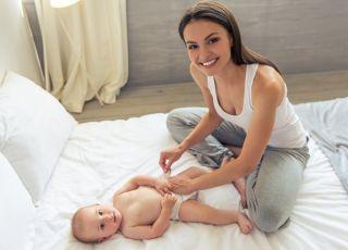 Przewijanie dziecka krok po kroku