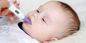 przeziębienie, niemowlę, dziecko, gorączka, choroba