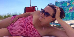 Przyszła mama wyznaje, dlaczego kocha swoje ciążowe ciało