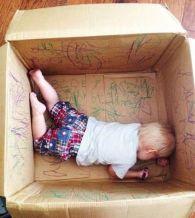 jesienne zabawy plastyczne dla dzieci - karton do kolorowania
