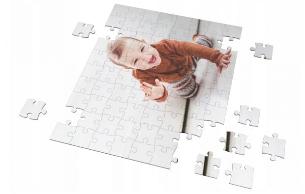 puzzle ze zdjęciem dziecka