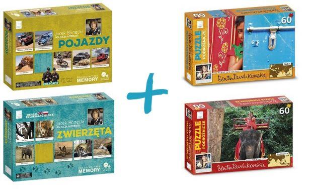 Puzzle i memory - nagrody w konkursie świątecznym na Babyonline.pl