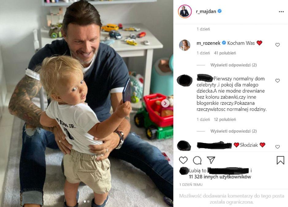 """Radosław Majdan pokazał pokój synka. Fani: """"Pierwszy normalny dom celebryty"""""""