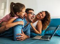 radosna rodzina
