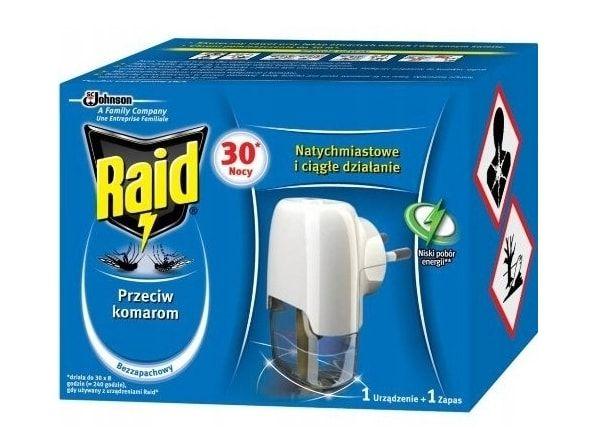 raid na komary elektrofumigator