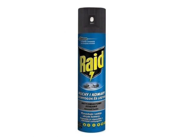 raid na komary spray