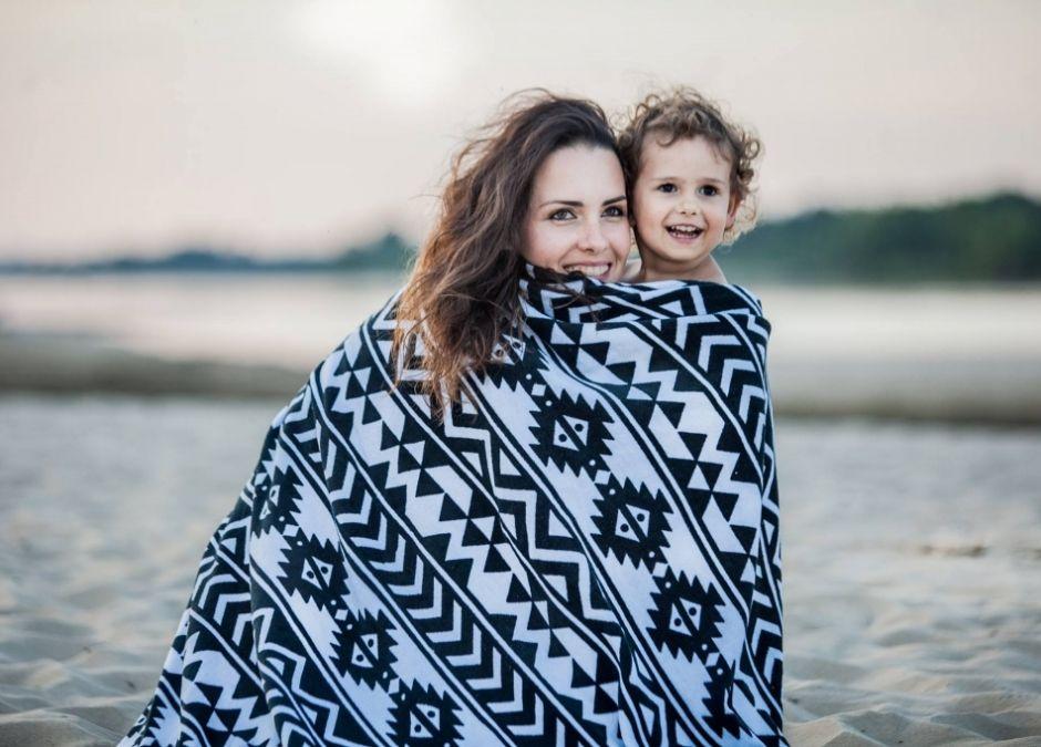 ręcznik w azteckie wzory bawełna okrągły z frędzlami 209zł hugme.com.pl.jpg
