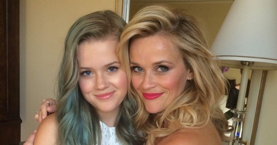 Reese Witherspoon z córką