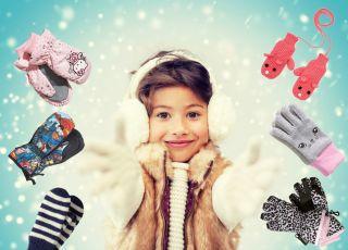 rękawiczki dla dzieci - zima 2014/2015