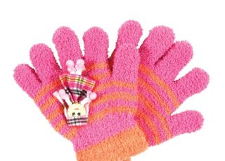 rękawiczki dziewczęce, rękawiczki dla dzieci, Pepco