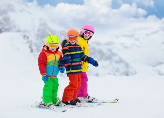 rękawiczki narciarskie dla dzieci