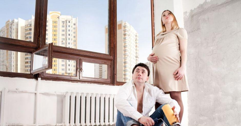 remontujemy mieszkanie w ciąży