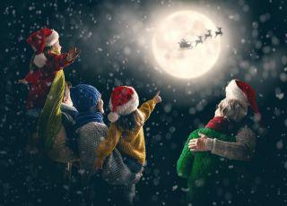 Renifery św. Mikołaja