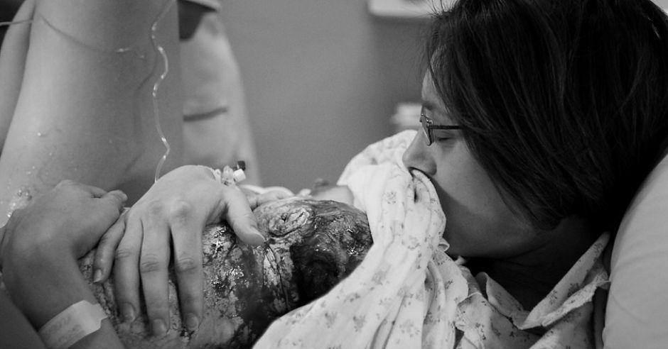 reportaż z porodu