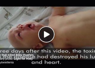 Riley Hughes, który zmarł na krzusiec