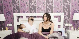 rodzice, dziecko, zmęczenie