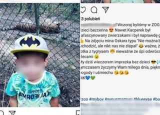rodzice łamią zakazy w zoo