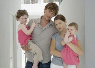 rodzice, rodzina, dzieci, mama, tata, niemowlę, rodzeństwo