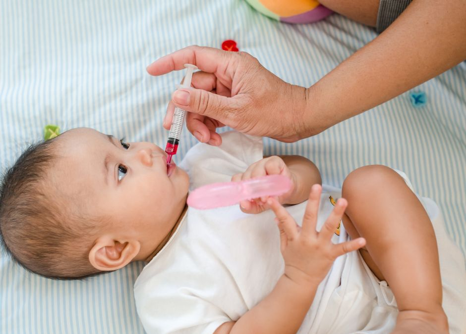 rodzice samodzielnie leczą dzieci