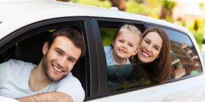 rodzina, auto, wakacje