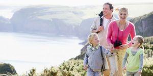 rodzina, urlop, wakacje, góry, morze, wycieczka