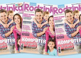 Rodzinka, magazyn dla rodziców, Twoje Dziecko, wydanie specjalne, dzieci w wieku szkolnym, szczęśliwa rodzina