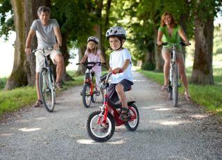 rower dla dziecka, dzieci, wycieczka rowerowa, rowerek dla dziecka