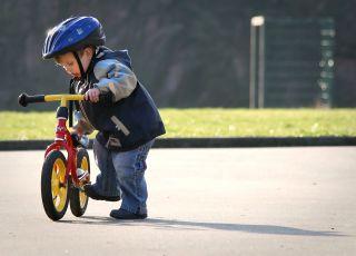 rowerek biegowy dla dwulatka