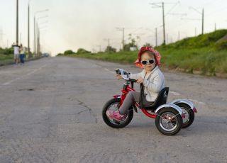 rowerek trójkołowy pompowane koła
