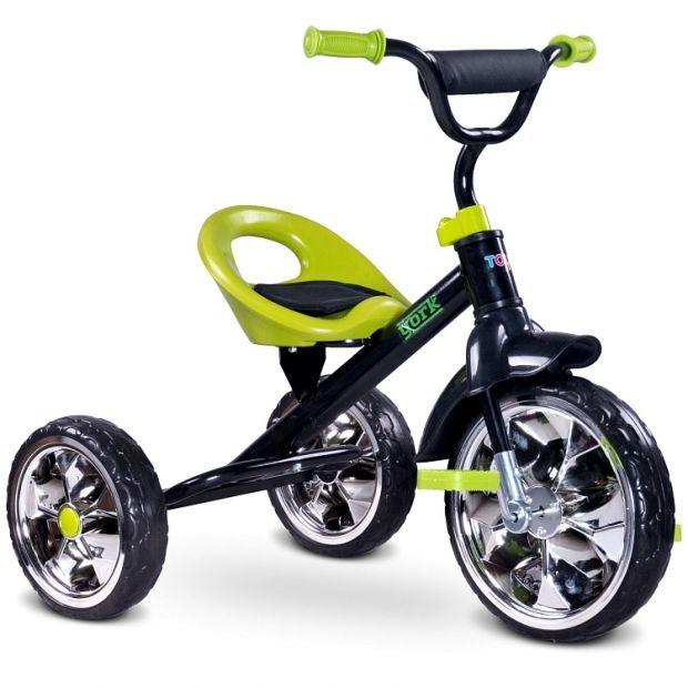 Rowerek trzykołowy Toyz York Green, cena ok. 120 zł