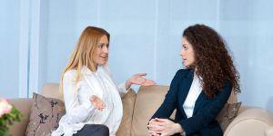 rozmowa rekrutacyjna z kandydatką na nianię