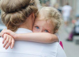 rozstanie, dziecko, mama, przedszkole