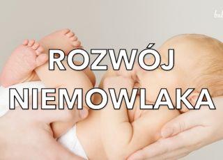 Rozwój niemowlęcia przez pierwsze 12 miesięcy życia [WIDEO]
