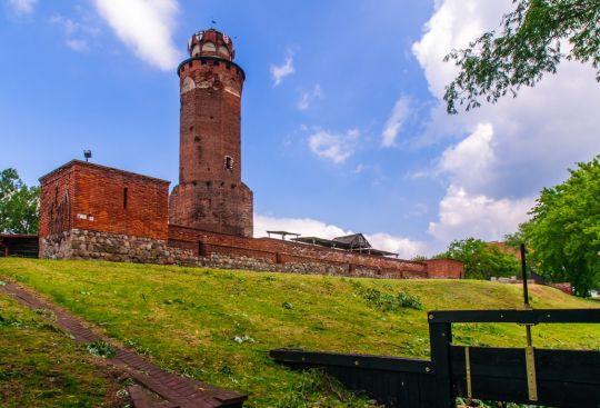 Brodnica, ruiny zamku krzyżackiego