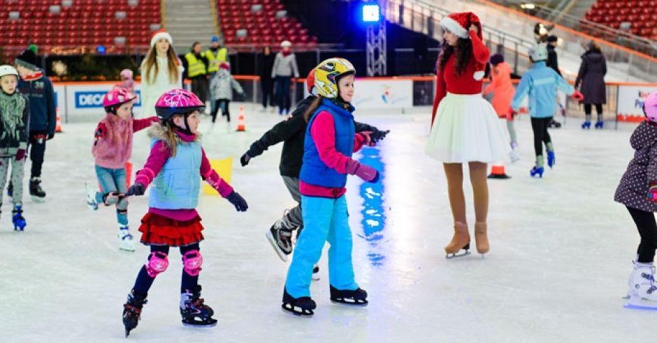 Rusz się po świętach Warszawo, Zimowy Narodowy, łyżwy w Warszawie, gdzie z dzieckiem w Warszawie