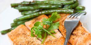 ryba, kuchnia, fasolka szparagowa