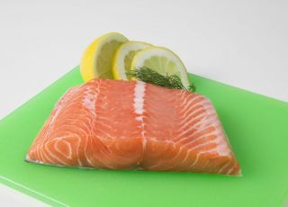 ryba, łosoś, cytryna, kuchnia